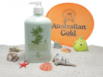 Australian Gold - Hemp Nation Sea Salt & Sandalwood - after Sun- 535ml