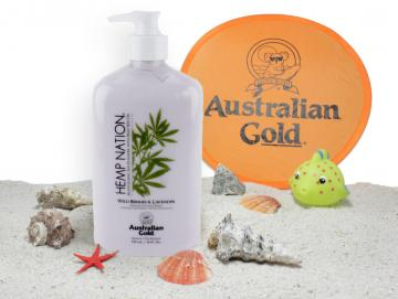 Australian Gold - Hemp Nation Wild Berries & Lavender -after Sun 535ml